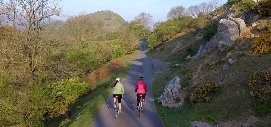 Road Cycling around Llangollen